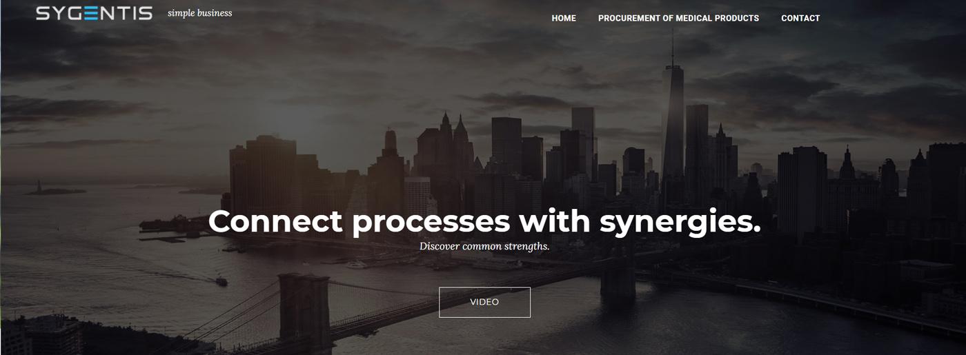 Simple Website Builder Template Example