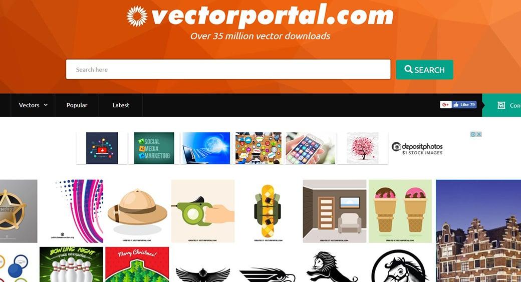 Векторный клипарт Vectorportal