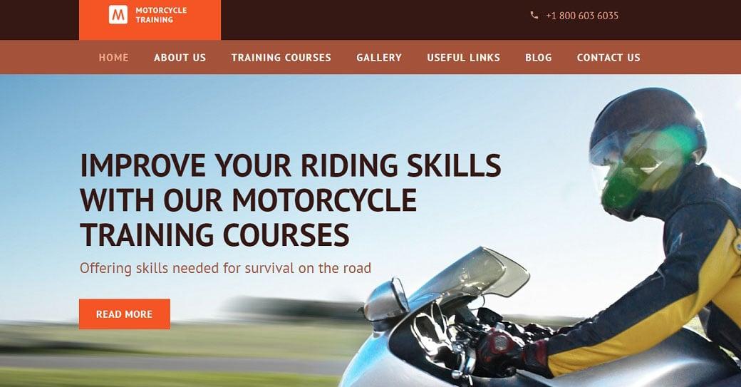 Online Driving School Website