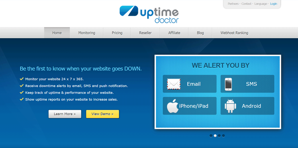 Uptime Doctor website uptime monitoring
