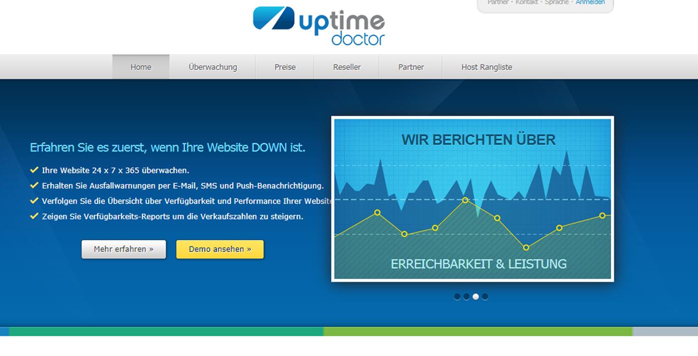 website uptime monitoring Uptime Doctor