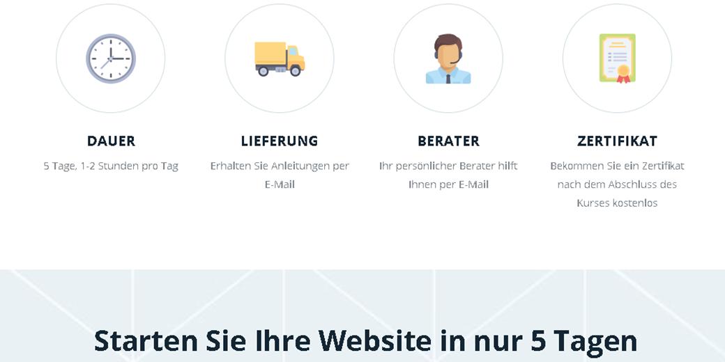 Webdesigner werden Kurs image