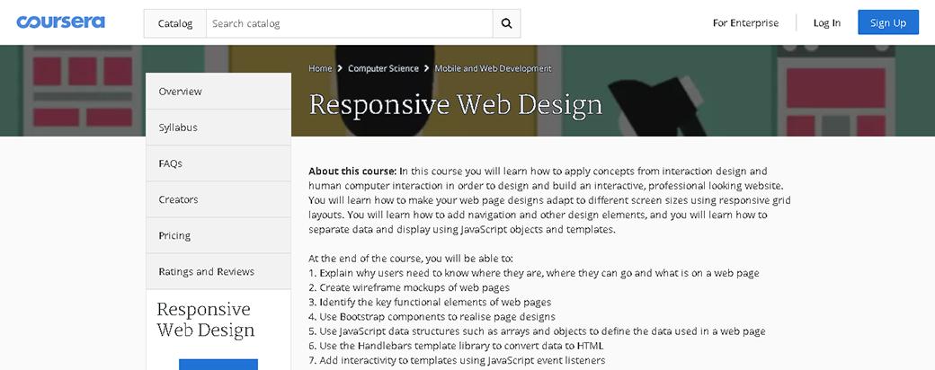 Webdesigner werden Responsives Webdesign image