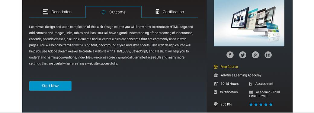 Webdesigner werden Diploma in Webdesign image