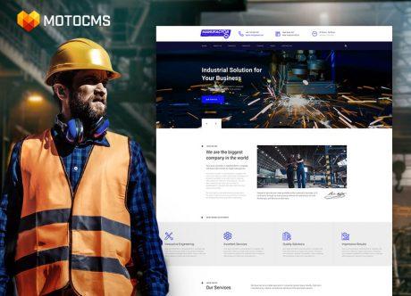 Top 12 Designlösungen für Industrie- und Produktionswebsites für Pflanzen, Fabriken und Logistik