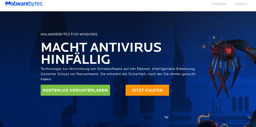 Online Virencheck Tools - Malwarebytes