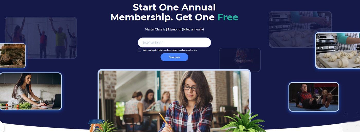 Online Studyong Website Template