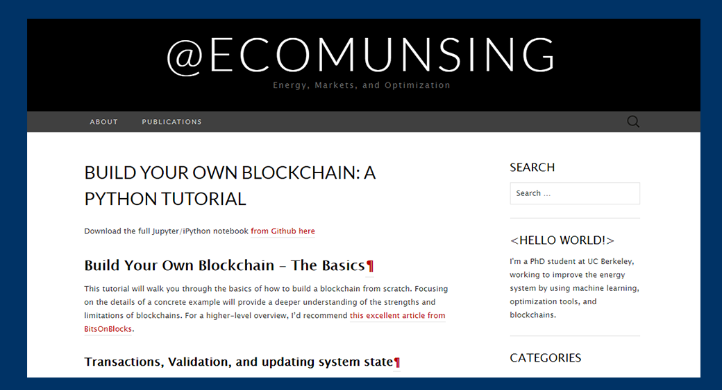 Pick Your Free Blockchain Tutorial of the Best Blockchain