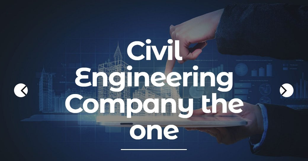Civil Engineering Industrial Website Design