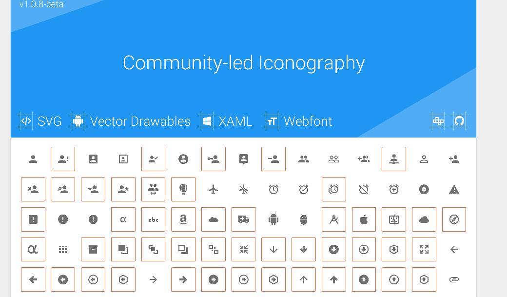 Материал дизайн шрифты