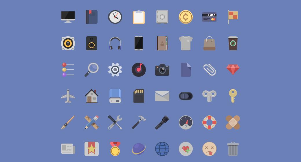 Материал дизайн PSD иконки