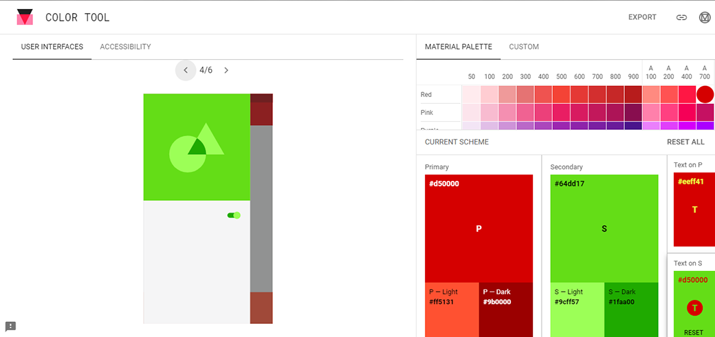 Free Material Design Color Tool By Google
