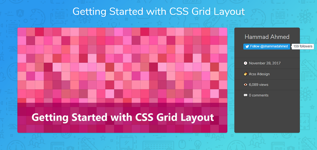 CSS Grid Layout Tutorials And Guides Getting Started image