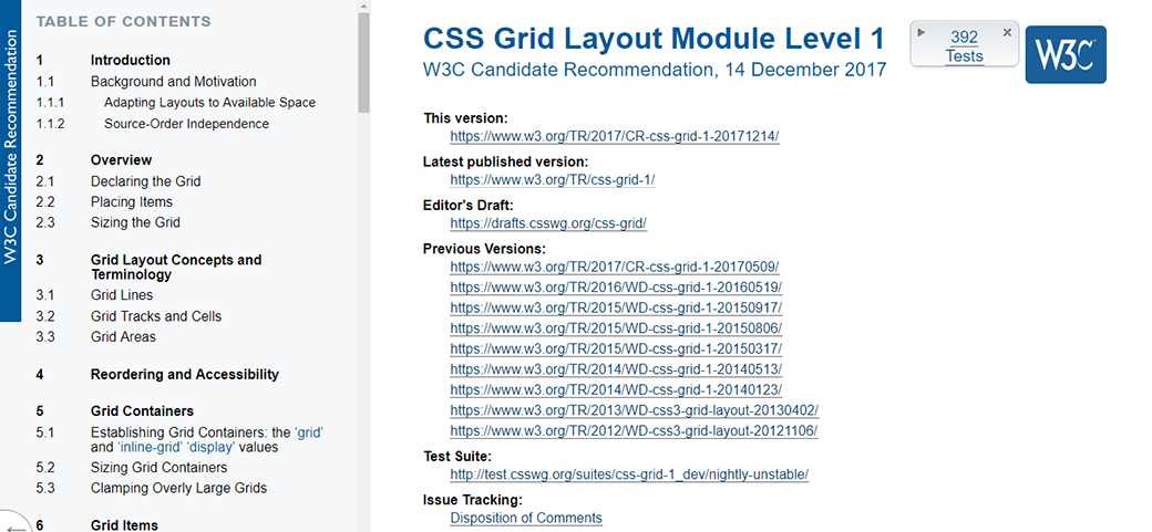 CSS Grid Layout Tutorial Module Level 1 image