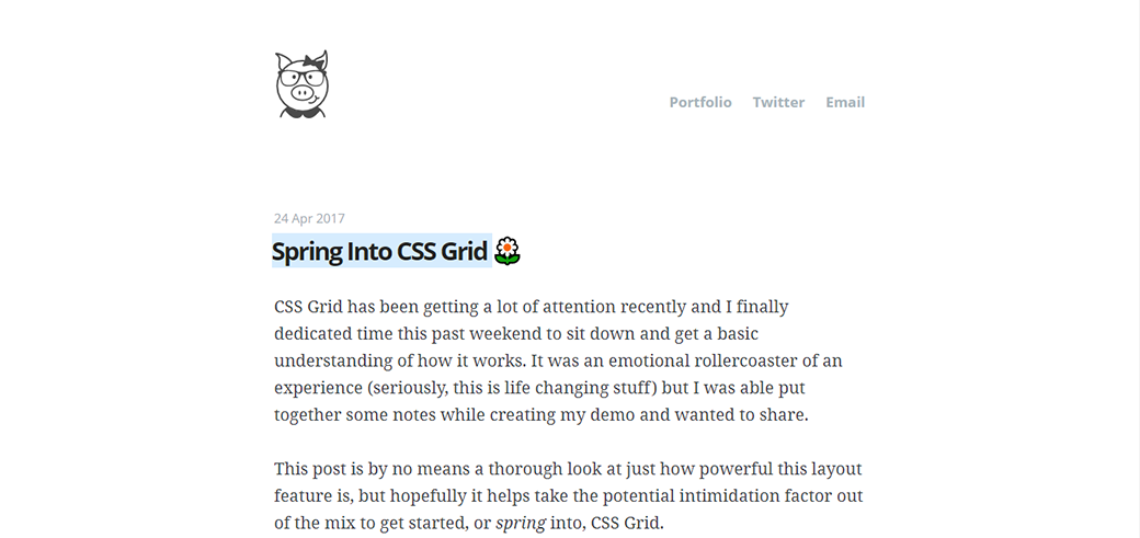 CSS Grid Layout Tutorials And Guides by Joni Bologna image