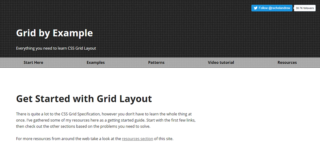 CSS Grid Layout Tutorial by Rachel Andrew image