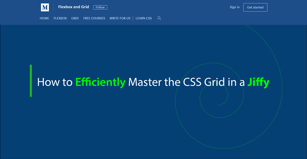 CSS Grid Layout Tutorial to Master the CSS Grid image