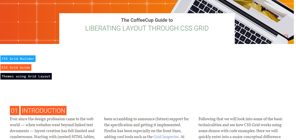 CSS Grid Layout Tutorial To Liberating Layout Through CSS Grid image