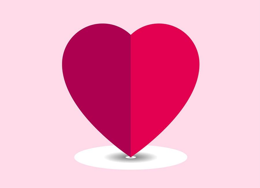 Valentinskarte – Kreative und Kostenlose  Valentinstag Vektoren und PSD Dateien