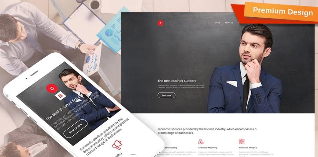 Consulting Premium Website Design