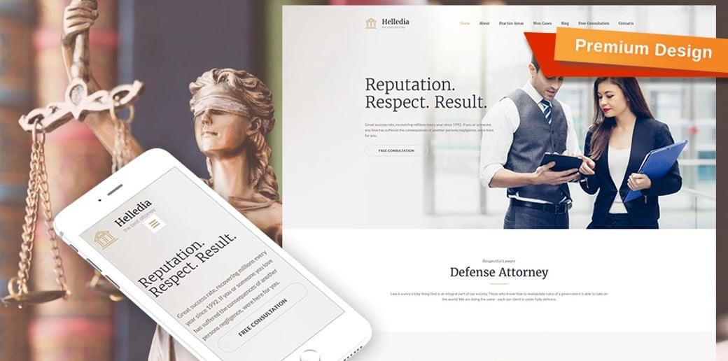 Lawyer Premium Website Design