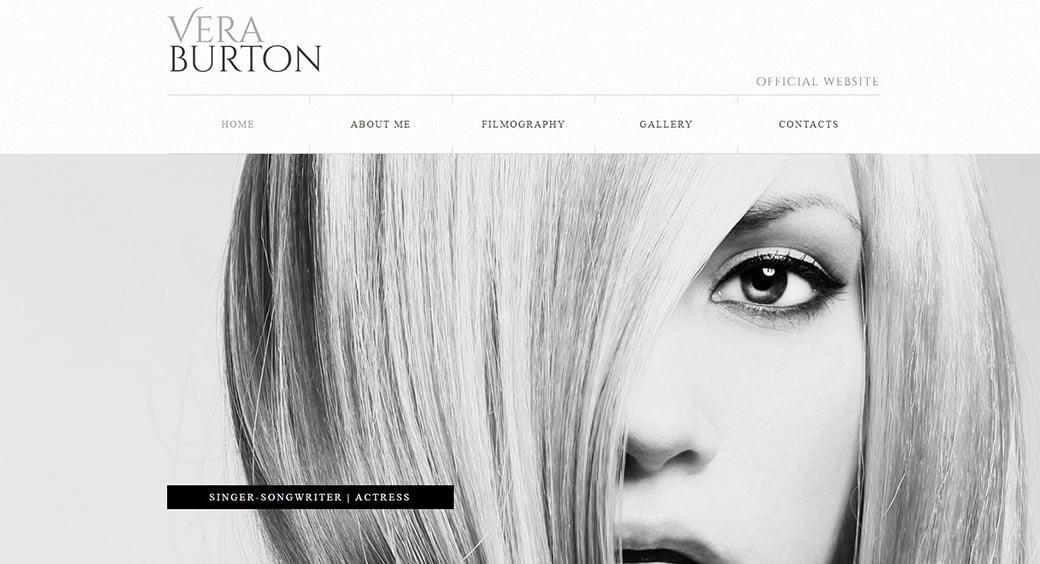 beautiful women blog with portfolio