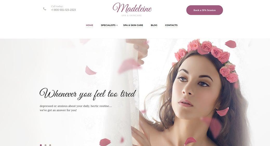 beautiful feminine blogger templates