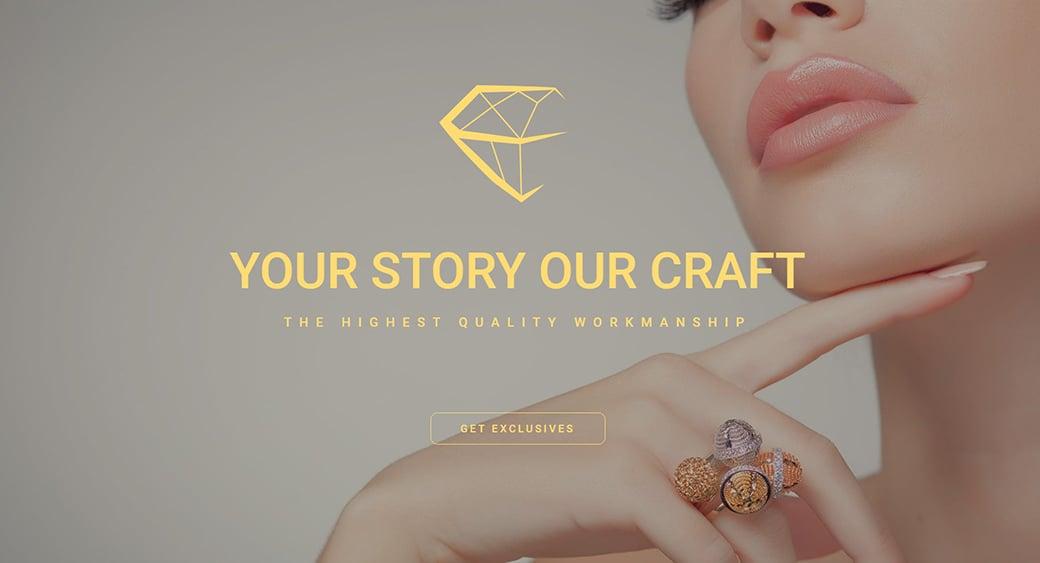 jevelry female design template
