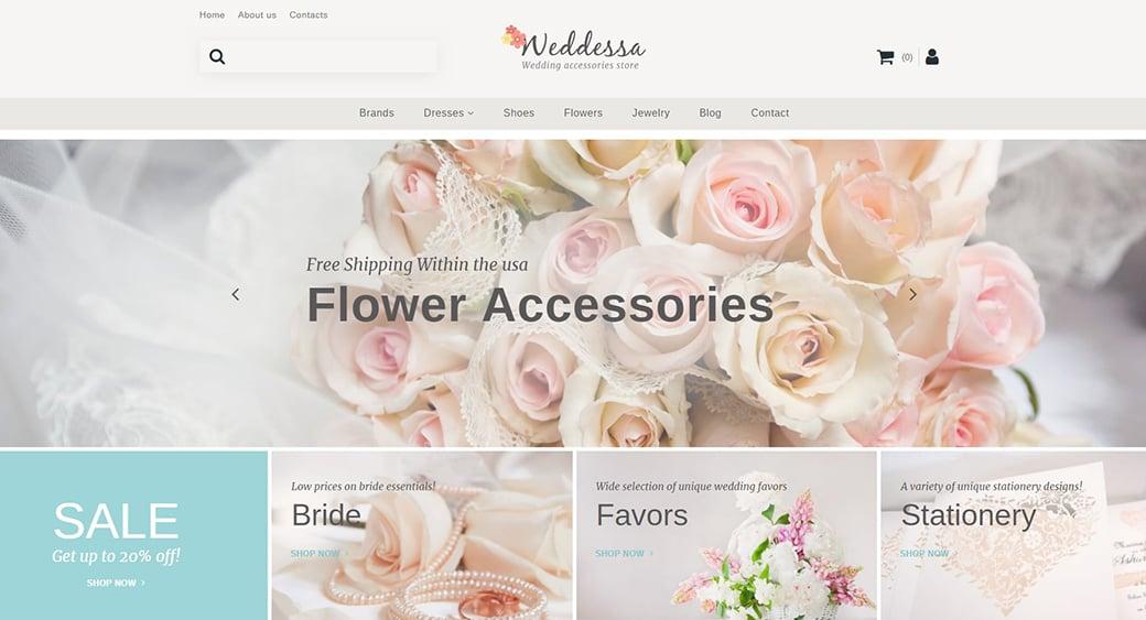 accessories female design template