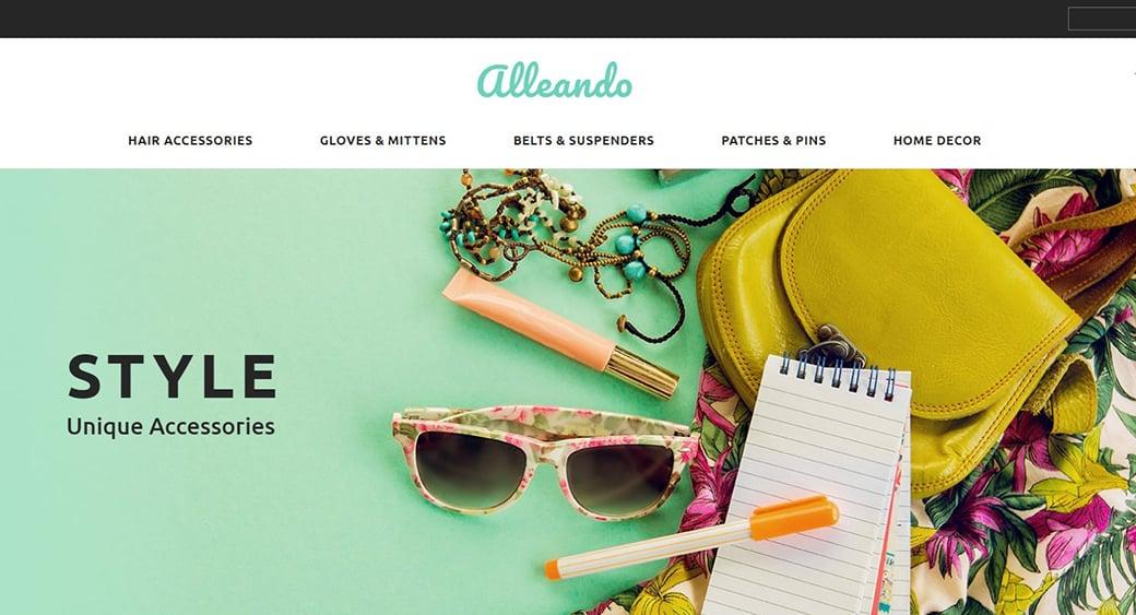 stylish feminine blog design