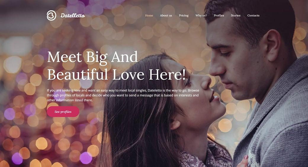 dating agency feminine themes