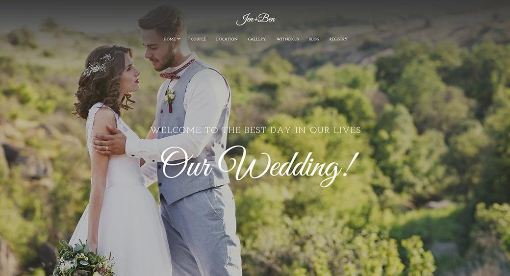 wedding female design template