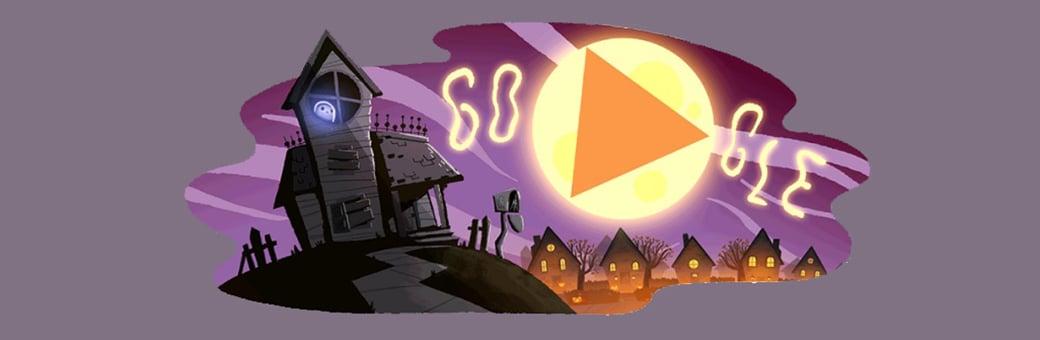 google doodle halloween 2017