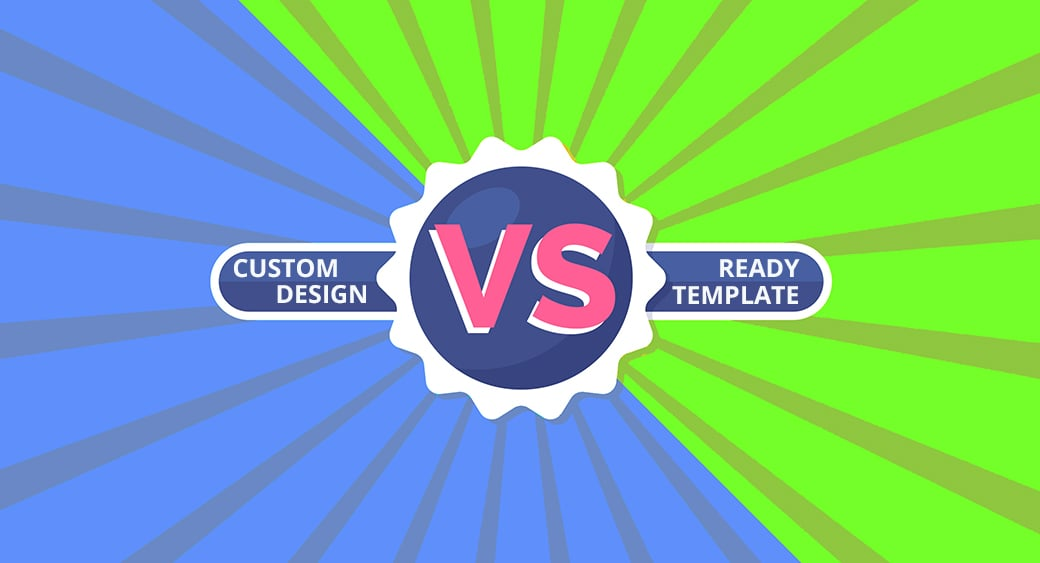 Custom Web Design Vs Website Templates main image