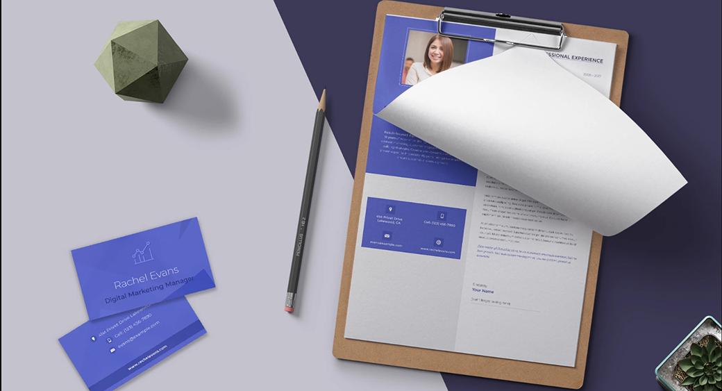 minimalist wor resume