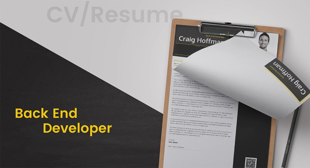 developer Resume Templates in Word Format image