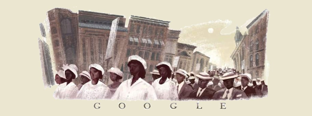 google doodle Tribute to Journalism
