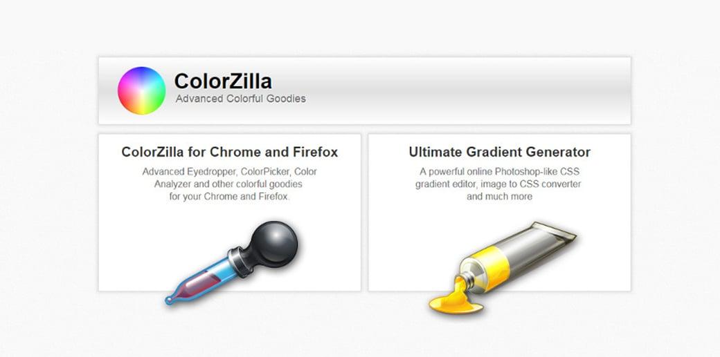 colorzilla создание прототипа сайта онлайн