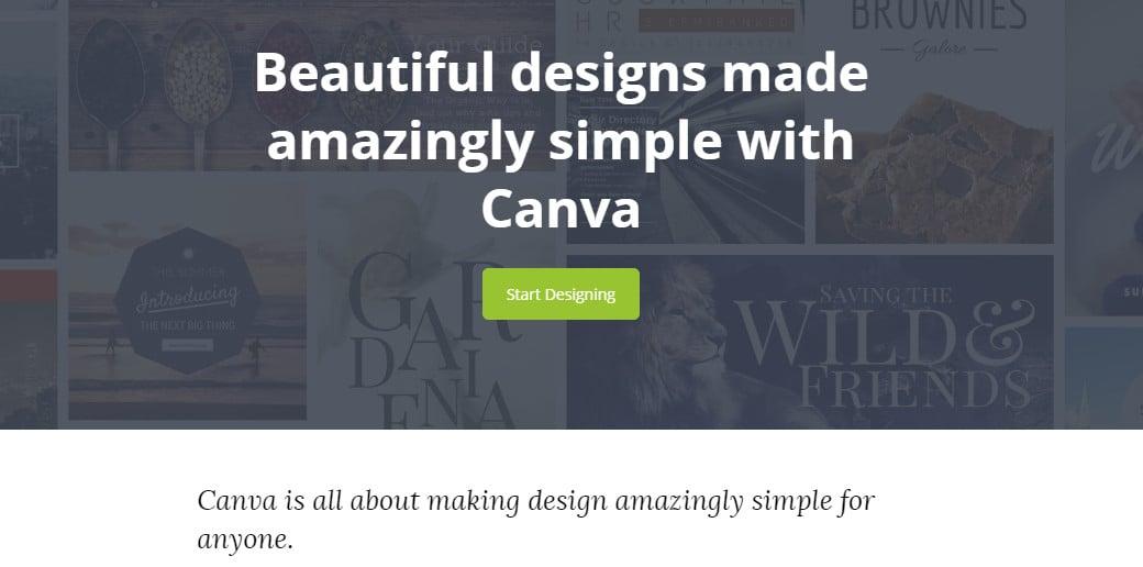 canva создание прототипа сайта онлайн