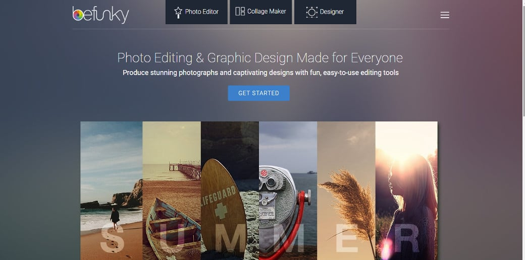 befunky photo design online tool