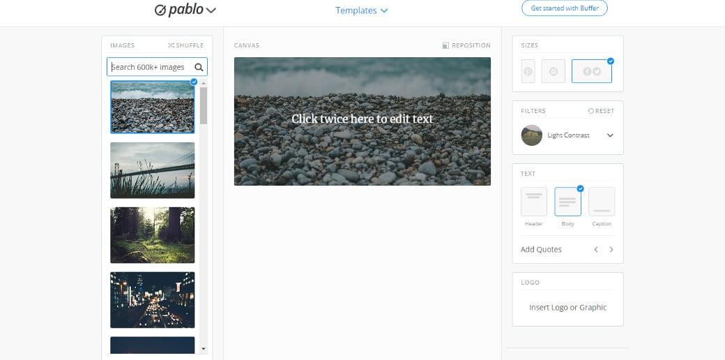 pablo easy graphic design