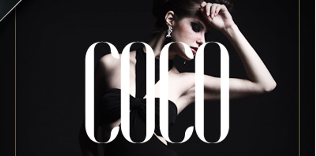 bold typography image COCo