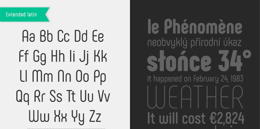 bold typography image Phenomena font