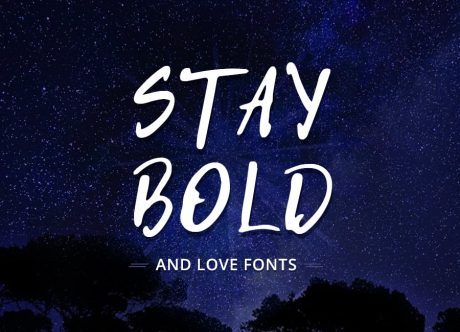 Bold Typography and Thick Fonts - How and Where to Use It Right