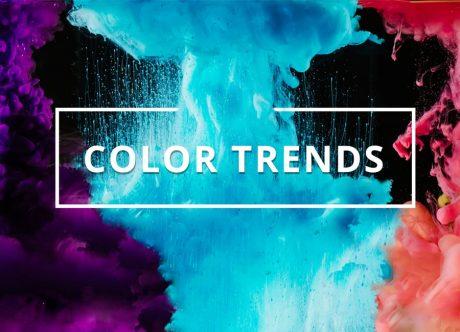 Spring Color Forecast: Highlighting The Hottest Web Design Color Trends 2018