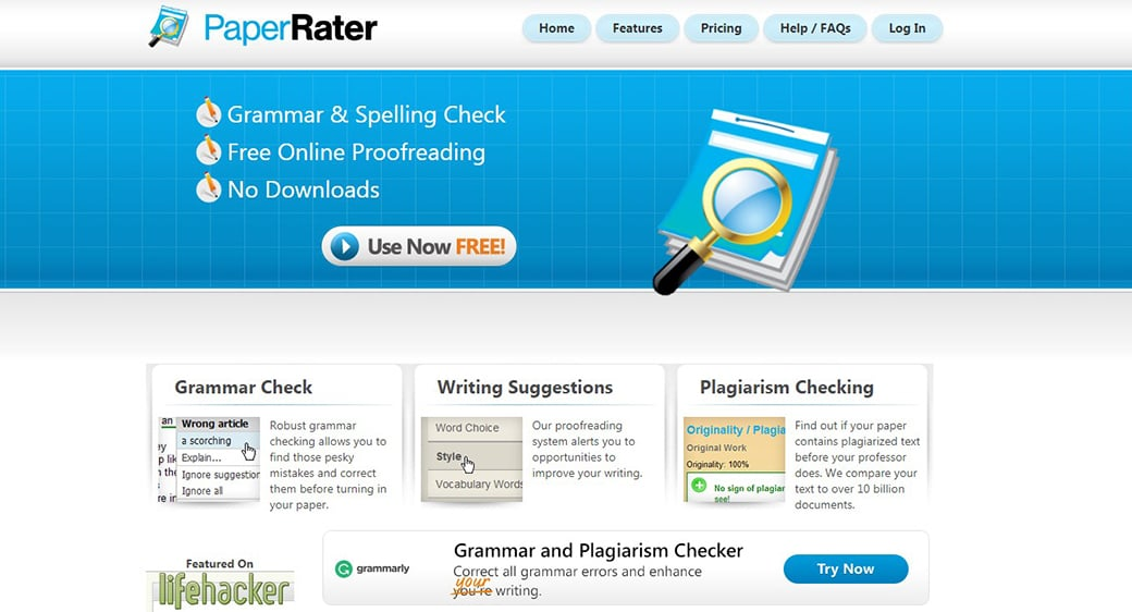 Paper Rater content curation tools