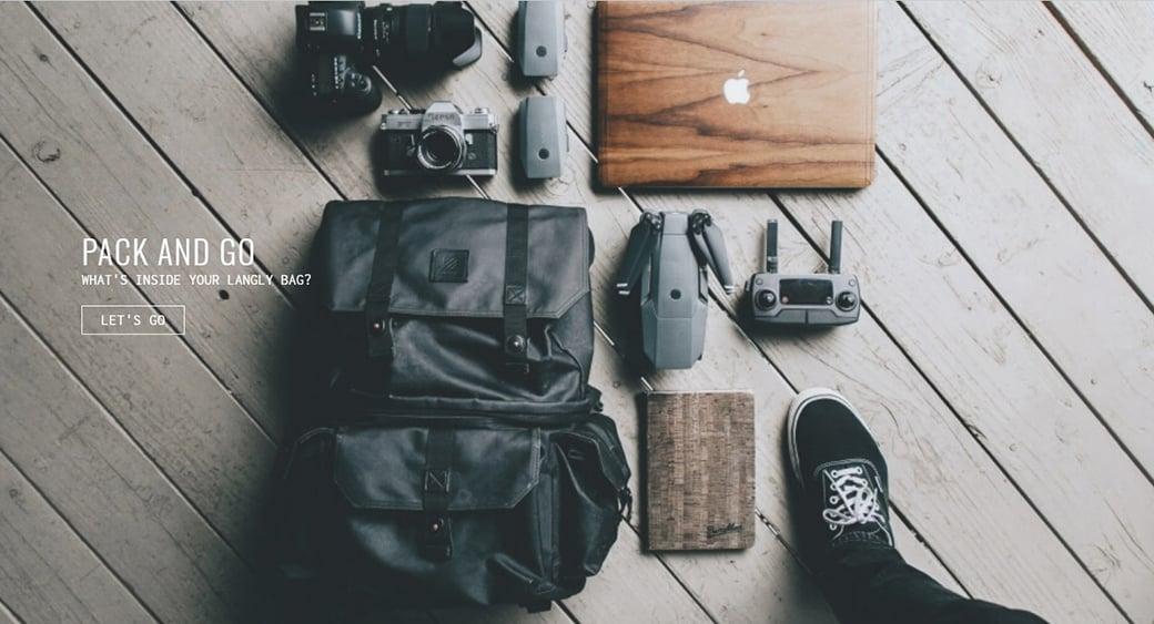 lifestyle ecommerce product image