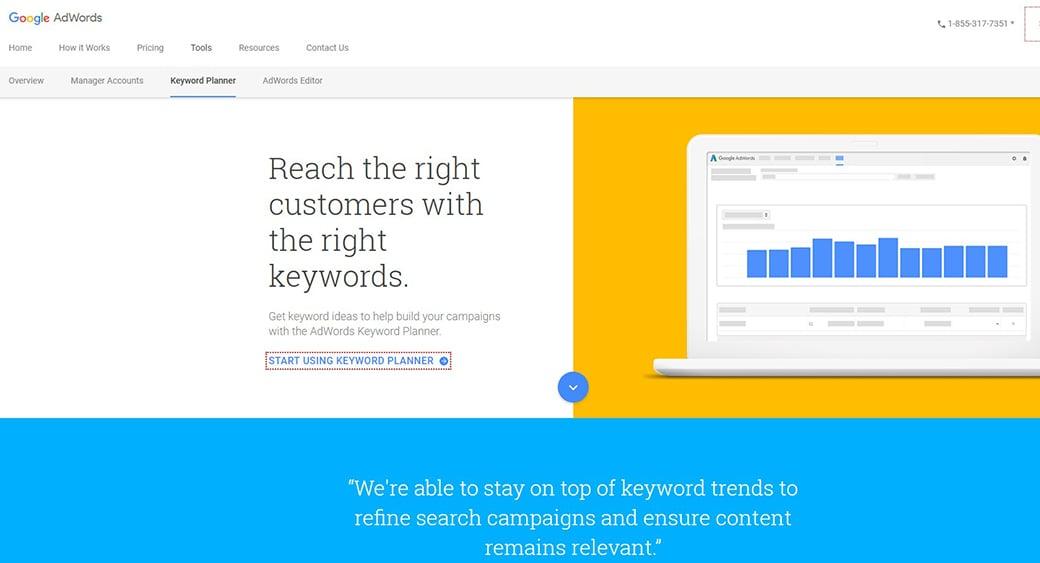 best free keyword research tools google keyword planner image