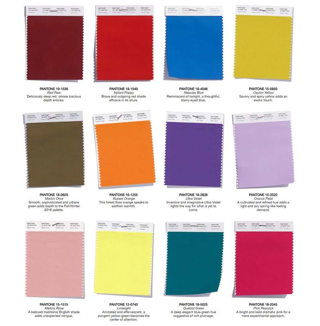 web design color trends 2018
