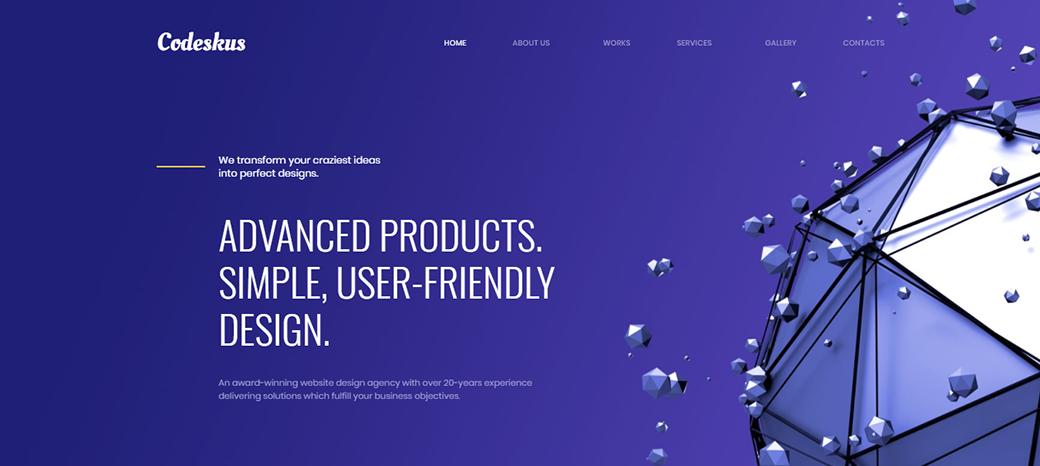 Web Design Agency Premium Template